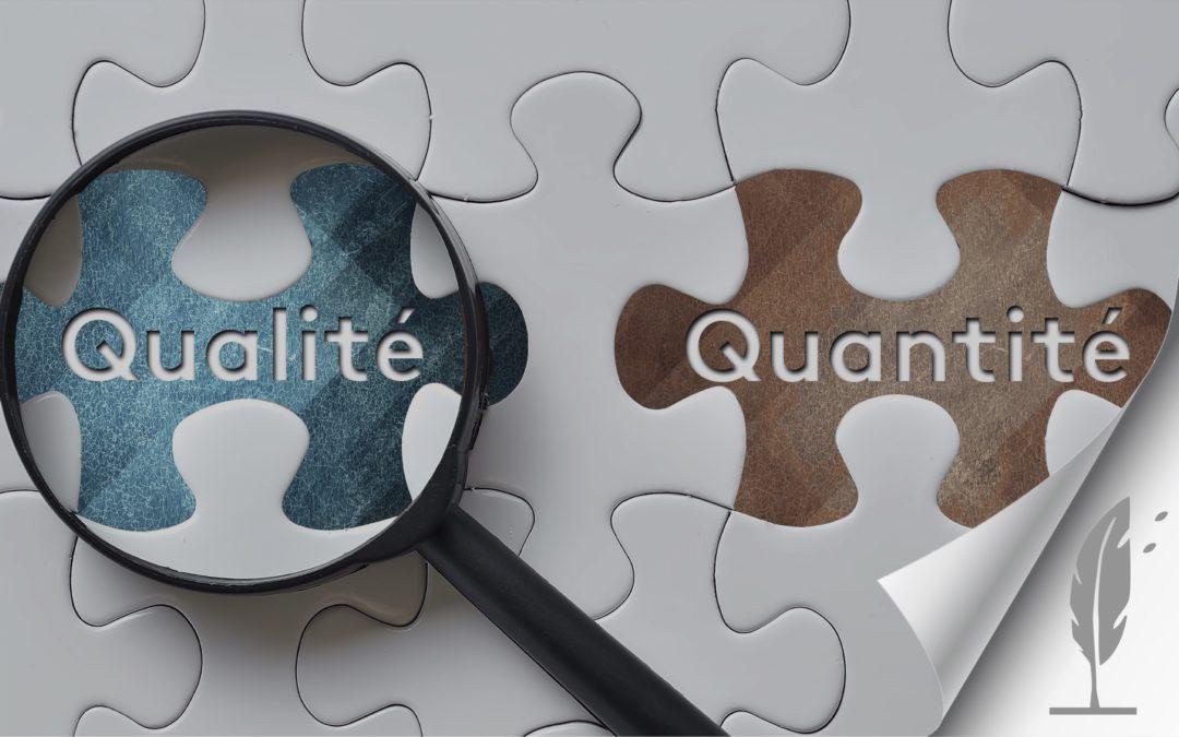 Moins de quantité pour plus de qualité : notre offre STARTER affinée !